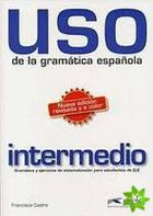 učebnice španělštiny Uso de la gramática espaňola intermedio