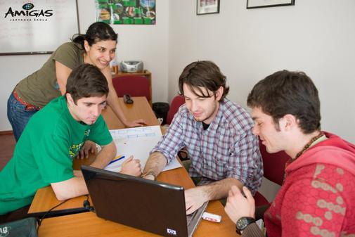 pomaturitní studium - výuka s rodilou mluvčí
