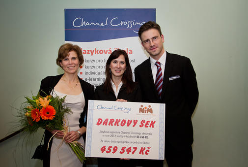 Jazyková agentura podporuje Nadaci Terezy Maxové.