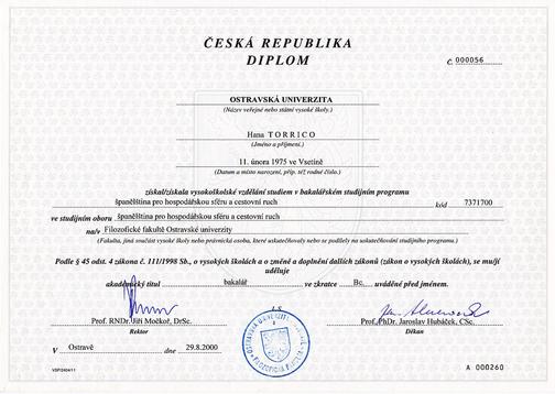 Vysokoškolský diplomplom D.E.L.E