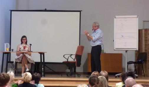 Tlumočení na semináři Franka Kinslowa v Praze